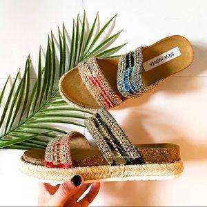 Steve Madden | Beaded Platform Espadrille Sandals